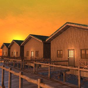 3D water resort