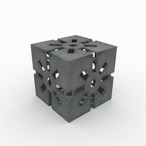syma molto 90 cube 3D