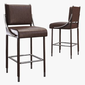 soane - opera bar stool 3d 3ds
