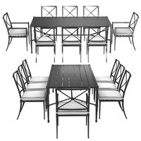Restoration Hardware Trousdale table and chairs