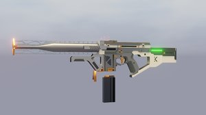 universal electromagnetic rifle model