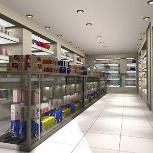 3D pharmacy shop