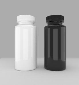 plastic bottles 3D