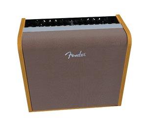 fender acoustic 100 amplifier 3D model