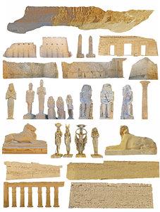 egypt ancient city hd 3D