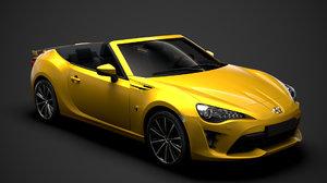 3D model scion fr-s cabrio 2020
