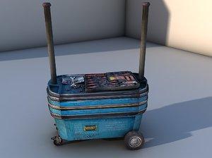 3D tool trolley