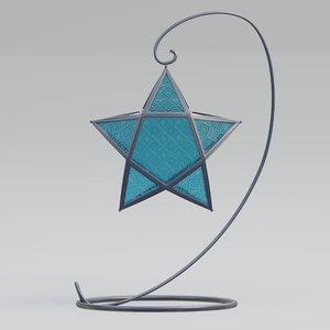 3D model lamp designed