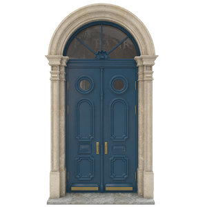 entrance door model
