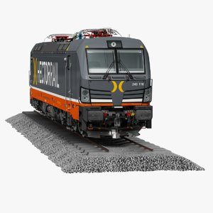 siemens vectron 3D model