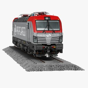 3D siemens vectron model