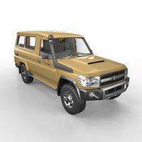 2012 Toyota Land Cruiser 78