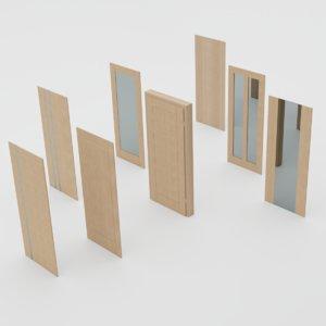 doors handles 3D model
