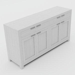 commode 3D model