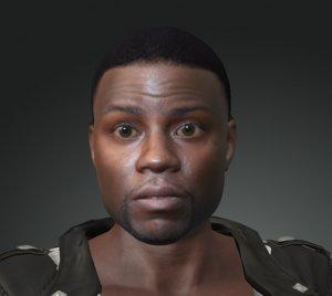 3D man character design actor