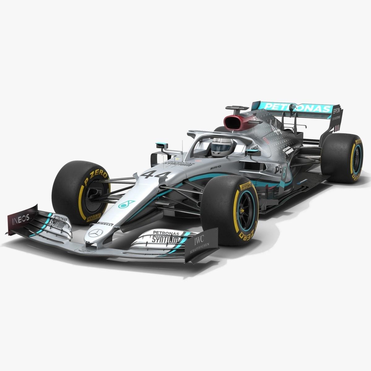 mercedes f1 w11 formula 1 model
