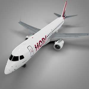 hop! embraer190 l623 3D model