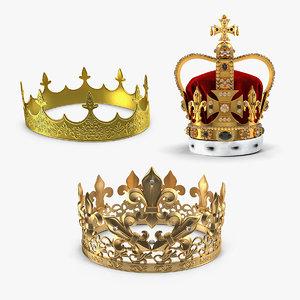 3D crown 2 model