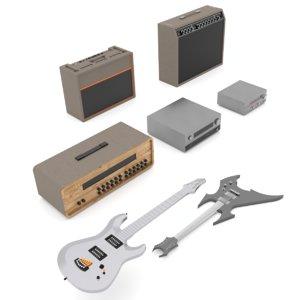 instruments 3D model