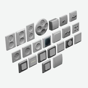 3D sockets switchs