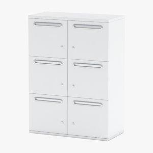 3D storage cabinet herman model
