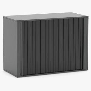 storage cabinet herman 3D model