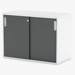 3D model storage cabinet herman