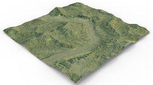 games terrain model