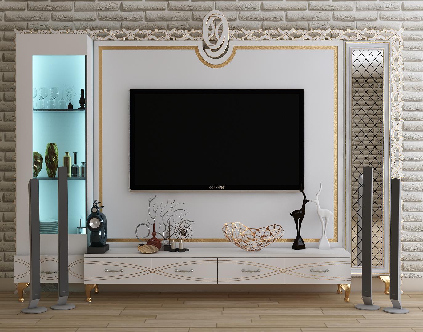 Tv Stand Furniture Design Model