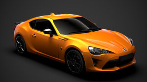 3D model scion fr-s monogram 86
