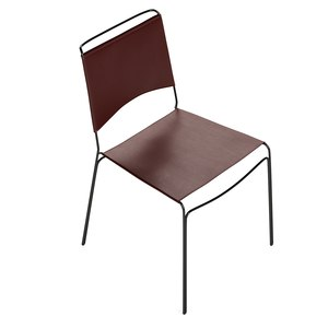 trace leather chair 3D model