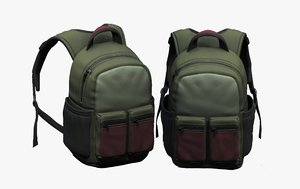 3D luggage fashion bag model