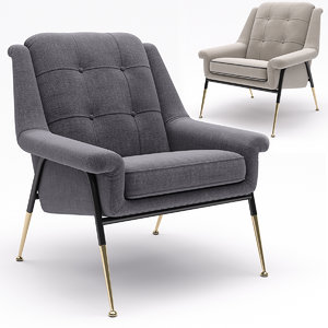 tosconova armchair witton 3D model