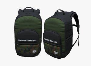 3D bag backpack