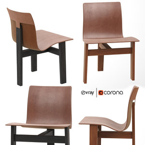 tre 3 chair agapecasa 3D model