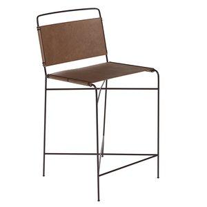 wharton counter bar stool 3D model