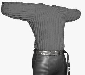 3D streetwear outfit pants