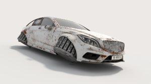 hovercar hover car 3D model