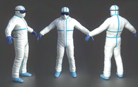 Hazmat Suit white