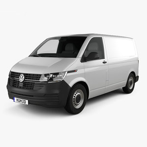 volkswagen transporter panel 3D model