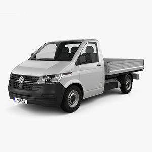 volkswagen transporter single 3D model