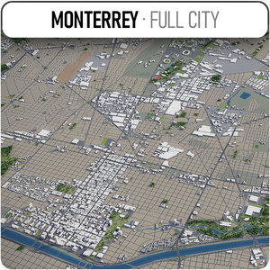monterrey surrounding - model