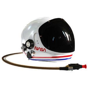 helmet nasa 3D
