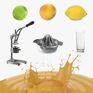 juice equipment 3D