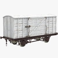 Wooden Container Wagon