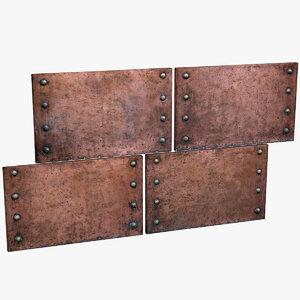 copper plating obj