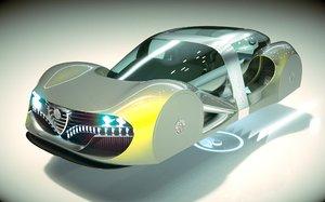 car alfa hover 3D model