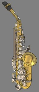 alto saxophone model