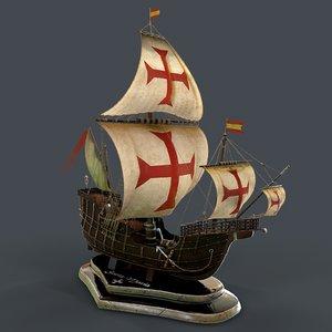 santa maria ships model