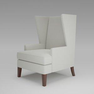 3D contract alexander chair